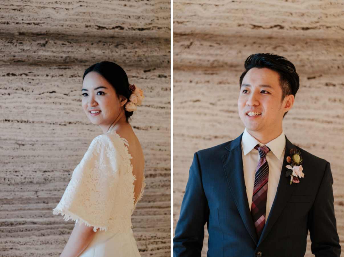 Wedding of Weiwei and Cheng Wen, Photo by Mindy Tan. Weiwei's custom Gown is from Jessicacindy